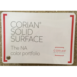 CORIAN SOLID SURFACE 2020 COLOR FANDECK- CORIAN SOLID SURFACE POP