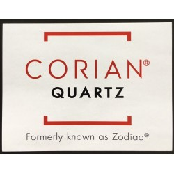 RE-BRANDING LABEL - CORIAN QUARTZ POP