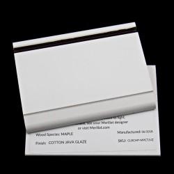 MAPLE COTTON/JAVA - MERILLAT CLASSIC SAMPLE CHIP