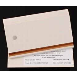 MAPLE CHIFFON/DESERT - MERILLAT CLASSIC SAMPLE CHIP