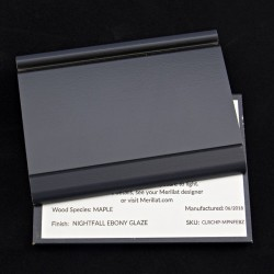 MAPLE NIGHTFALL/EBONY - MERILLAT CLASSIC SAMPLE CHIP