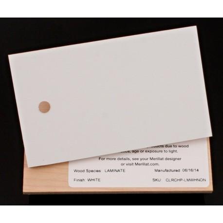 LAMINATE WHITE - MERILLAT CLASSIC SAMPLE CHIP