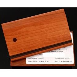 CHERRY AMARETTO/JAVA GLAZE - QUALITY CABINETS SAMPLE CHIP