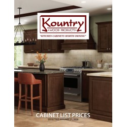 KOUNTRY WOOD PRODUCTS 2020 PRICE BOOK