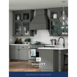 QUALITY CABINETS DESIGN SELECTION GUIDE 2019