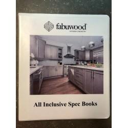 ALL INCLUSIVE SPEC BOOK BINDER - FABUWOOD