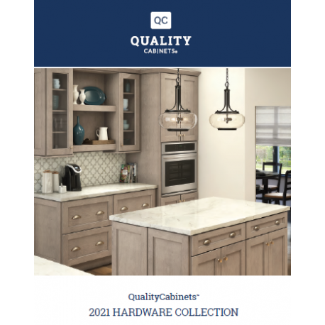 HARDWARE COLLECTION BROCHURE - QUALITY CABINETS - PDF ONLY