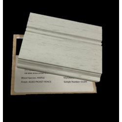 MAPLE AGED PICKET FENCE - MASTERPIECE SAMPLE CHIP