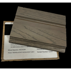 HICKORY TRANSLUCENT MONUMENT GREY - MASTERPIECE SAMPLE CHIP