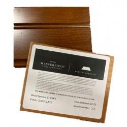 CHERRY CHOCOLATE - MERILLAT MASTERPIECE SAMPLE CHIP