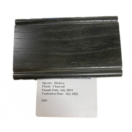HICKORY CHARCOAL - MID CONTINENT SAMPLE CHIP