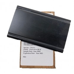 CHERRY CHARCOAL W BLACK GLAZE - MID CONTINENT SAMPLE CHIP