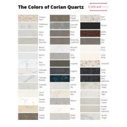 Corian Quartz Color Chart - Summer 2021